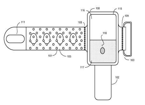 Los diagramas de las patentes de Apple muestran como será el nuevo iWatch