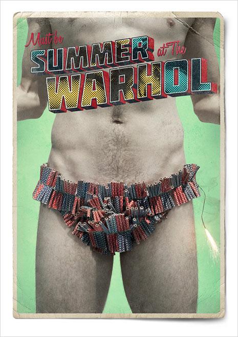 Los carteles más refrescantes y espeluznantes de este verano