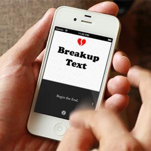 ¿No sabe cómo romper con su pareja? Esta app hace por usted el trabajo sucio