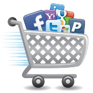 Las redes sociales sólo representan el 2,4% del tráfico de compra online