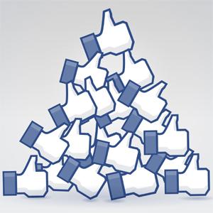 """Cuantos más fans en Facebook, menor es el """"radar"""" de una página en la famosa red social"""