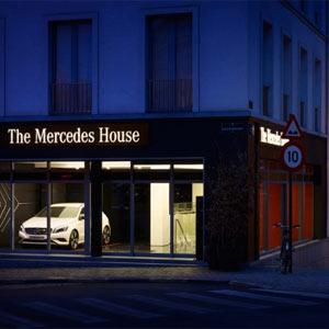 Mercedes-Benz ya no sólo se conduce, ahora también se come