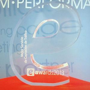 T2O media, Mejor Empresa de Captación de Tráfico en los eAwards 2013