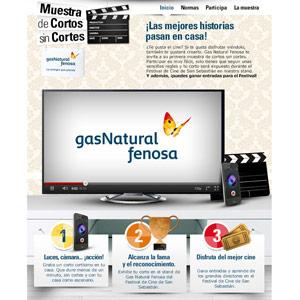 """Arena colabora en la """"Muestra de Cortos sin Cortes"""" de Gas Natural Fenosa"""