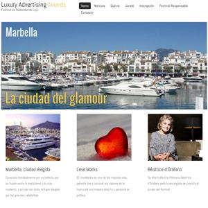 Marbella se viste de lujo para acoger los Luxury Advertising Awards el próximo 7 de noviembre