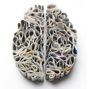 Brain Art - Newspaper