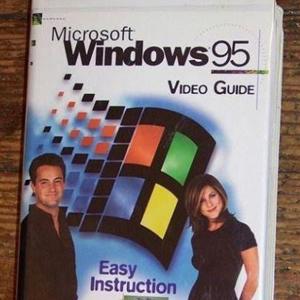 windows 95 jennifer aniston matthew perry