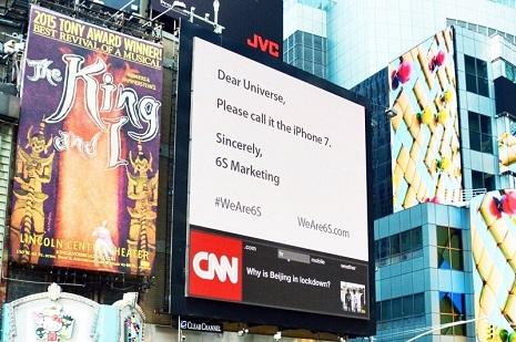 6s marketing apple iphone