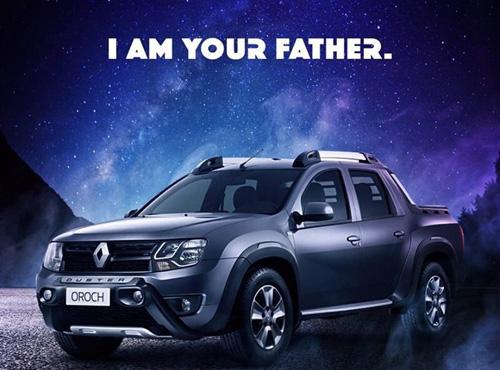 """Star Wars, """"arma"""" publicitaria para zanjar esta curiosa disputa entre Renault y Fiat"""
