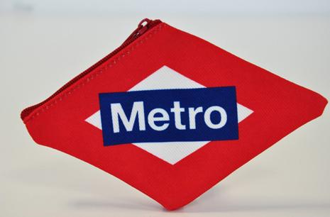 monedero Metro de Madrid