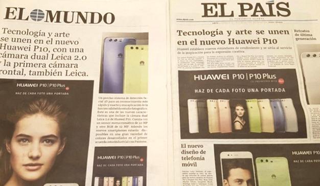 Maxus desarrolla una innovadora estrategia para el lanzamiento del P10 de Huawei