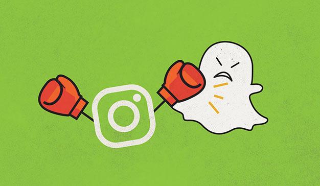 Snapchat no consigue el mismo tirón en publicidad que sus competidores Instagram y Facebook