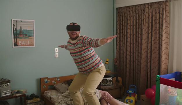 Esta divertida campaña destapa el lado más descacharrante (e idiota) de la realidad virtual