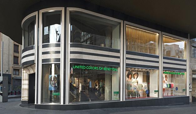 Benetton abre su tienda insignia en la Gran Vía de Madrid