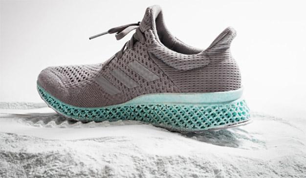 Adidas presenta su primera zapatilla impresa en 3D de forma masiva