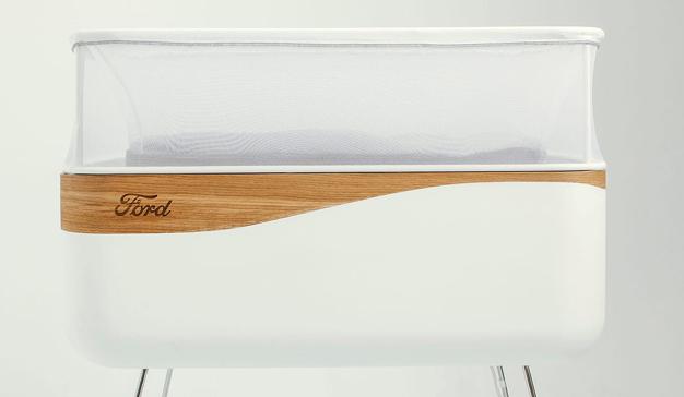 No más noches en vela: Ford crea una cuna que simula paseos en coche