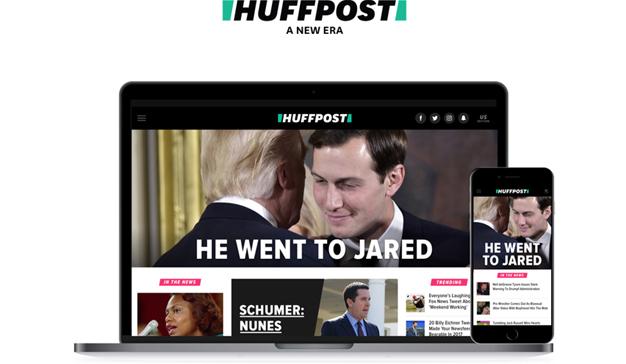 """The Huffington Post pasa por el quirófano y estrena nuevo """"look"""" y nuevo nombre: HuffPost"""