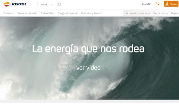 Repsol lanza su nueva web, que recibe más de 15 millones de visitas al año