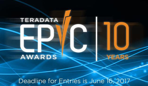 Comienza la competición por los premios EPIC Awards 2017 de Teradata