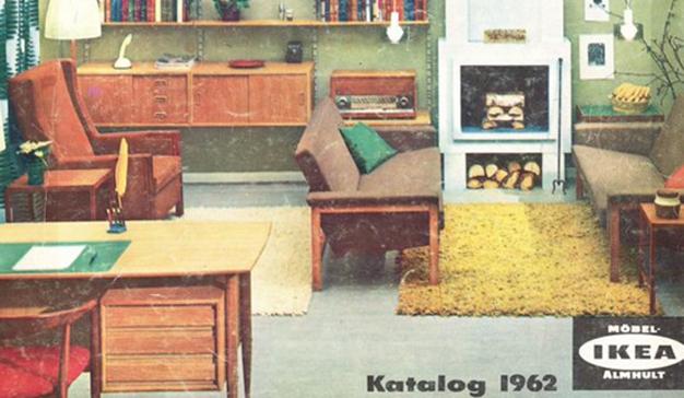 Viaje en el tiempo con los catálogos vintage de IKEA