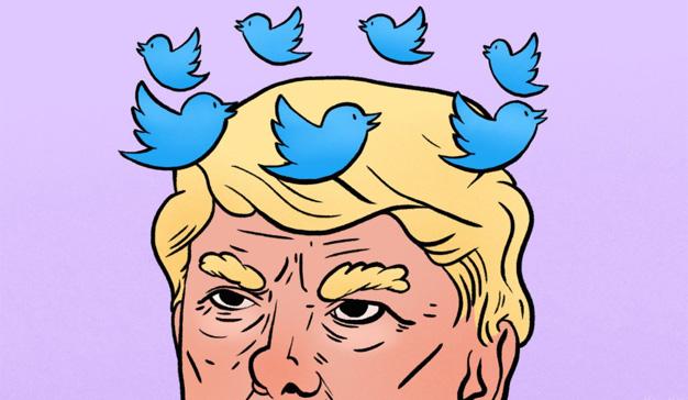 Trump aterrizó en la Casa Blanca a bordo de Twitter y el cofundador de la red social lo lamenta