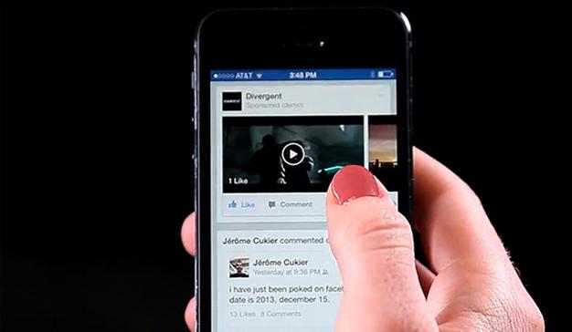 Facebook se centra en los vídeos de larga duración para aumentar su crecimiento