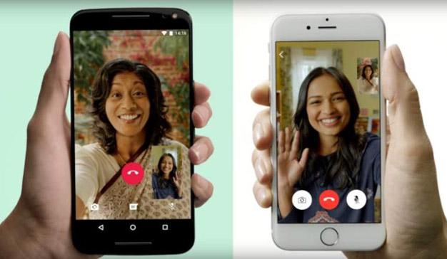 La función de videollamadas de WhatsApp triunfa entre los usuarios