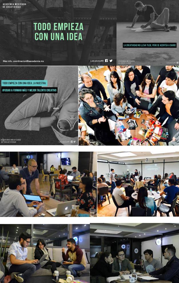 Comienzan los nuevos cursos de la Academia Mexicana de Creatividad en septiembre