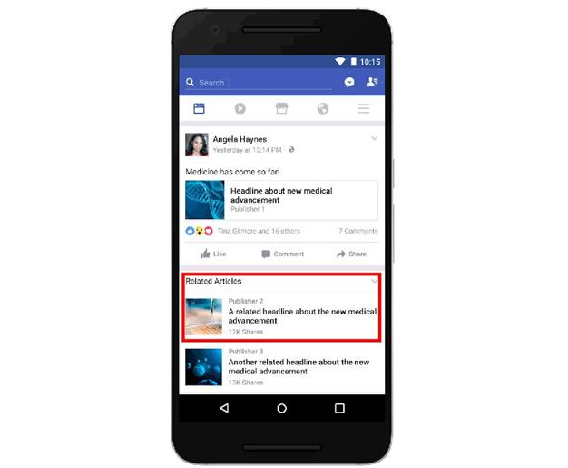 Facebook promete nuevas medidas para combatir las noticias falsas