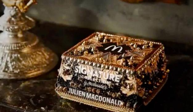 ¡Cajas de oro y diamantes, lo nunca visto! Así es el nuevo packaging de McDonald's