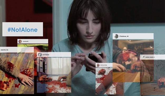 """Este cortometraje terrorífico (y algo """"gore"""") le hará cambiar su opinión sobre los selfis"""
