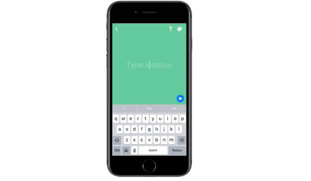 WhatsApp actualiza su función de estado con colores personalizados