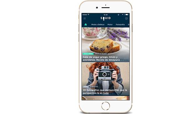 SQUID App, la aplicación que mantiene a los usuarios sobre sus campos de interés
