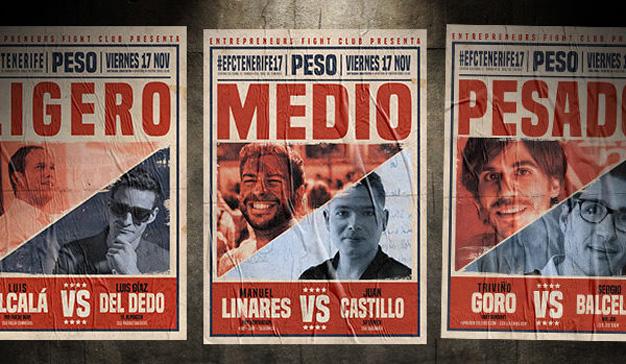 Los combates del Entrepreneurs Fight Club llegan mañana a Tenerife