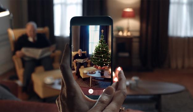 IKEA le ayuda a encontrar acomodo a su árbol de Navidad con la realidad aumentada