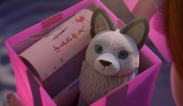 "Este adorable spot navideño le hará ""aullar"" de placer (y le recordará a Frozen de Disney)"
