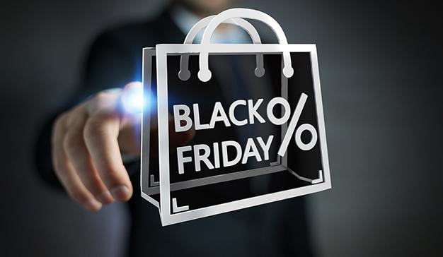 El número de compradores incrementó en más del 300% durante el Black Friday