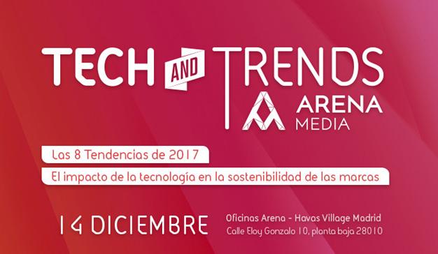 """Tecnología y tendencias tienen una cita el próximo 14 de diciembre en """"Arena Tech and Trends 2017"""""""