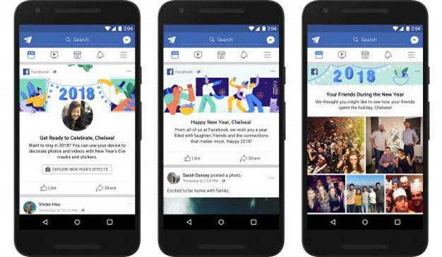 Estas son las nuevas funciones que Facebook lanzará por Navidad