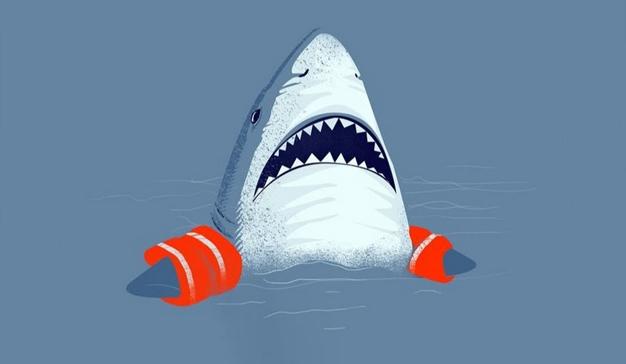 """4 """"tiburones"""" de afilados colmillos que rondan a los marketeros (para zampárselos)"""