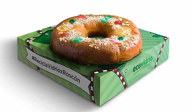 Ecovidrio entrega 2.500 roscones de Reyes a los ciudadanos que reciclen vidrio