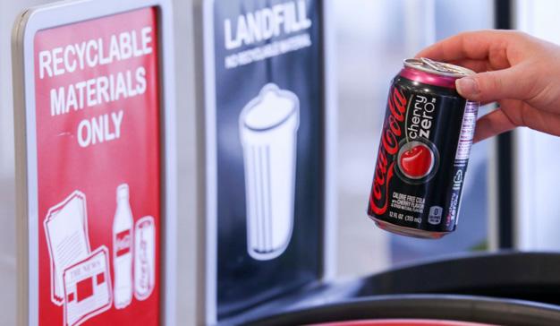 Coca-Cola quiere liderar la reducción de desechos plásticos