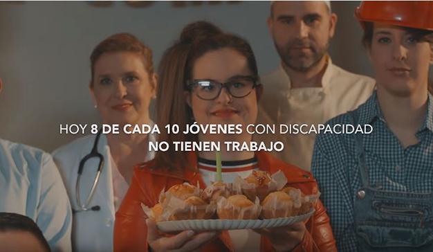 """VCCP Spain presenta  """"El futuro comienza hoy""""  para la Fundación Once e Inserta"""