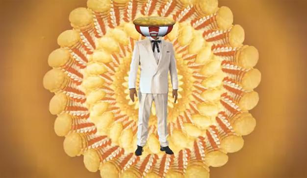 KFC presenta una extravagante campaña de meditación