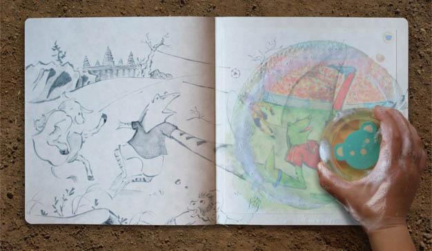 McCann Health Japón crea un libro lavable para concienciar a los niños camboyanos sobre la higiene