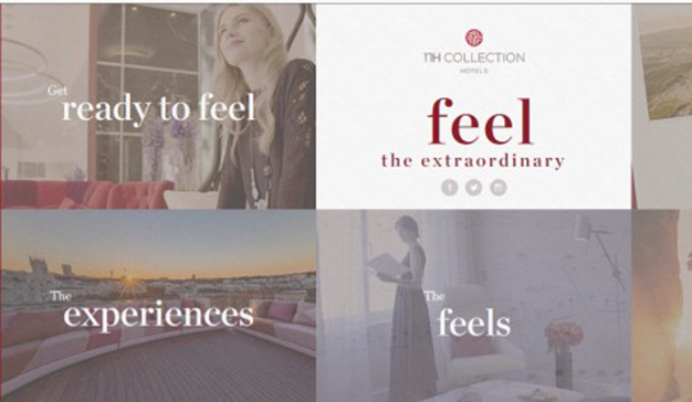 """Feel the extraordinary"", la nueva plataforma digital de NH Collection"