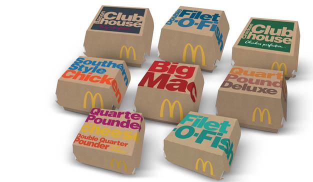 McDonald's apuesta por la sostenibilidad: en 2025 todo su packaging se hará con material reciclado