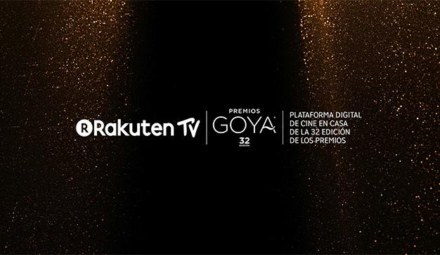 Rakuten TV patrocinará la 32ª edición de los Premios Goya