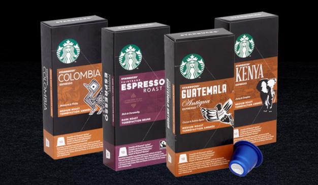 Starbucks se introduce en el mercado de las cápsulas de café con cuatro variedades