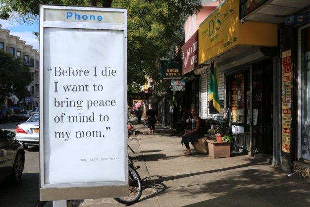 """De culos a """"cool"""": sustituir publicidad obscena por arte en las calles de Nueva York"""